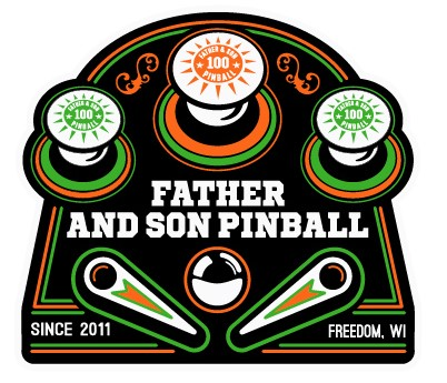 Father and Son Pinball